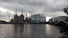 The iconic Battersea Power Station -  quickly becoming one of the capital's liveliest neighbourhoods.
