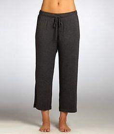 DKNY Seven Easy Pieces Modal Capri Length Pajama Pants Plus Size, 1X, Charcoal Heather DKNY. $43.95