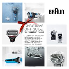 Christmas Gift-Guide: The Perfect Gift for Him. A last minute gift doesn't have to feel like one. Get him a Braun shaver at www.braun.com.