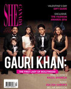 We can't stop obsessing! #SRK #Khans #Bollywood http://www.glamoursaga.com/family-portrait-of-shah-rukh-khan-gauri-khan-aryan-khan-suhana-khan-abram-khan-thats-is-going-to-break-the-internet-soon/