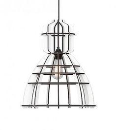 Het Lichtlab hanglamp no.19 industrielamp White (by Olaf Weller)