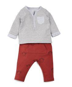 Sweatshirt Bekleidungsset Steiff Baby-M/ädchen Set Pants