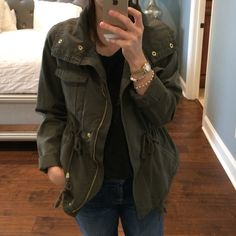 Jacket Olive green jacket Old Navy Jackets & Coats