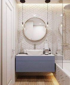 Amazing DIY Bathroom Ideas, Bathroom Decor, Bathroom Remodel and Bathroom Projects to help inspire your master bathroom dreams and goals. Modern Bathrooms Interior, Dream Bathrooms, Interior Modern, Beautiful Bathrooms, Interior Ideas, Master Bathrooms, Bathroom Layout, Modern Bathroom Design, Bathroom Interior Design