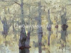 065 Stillness In A Cypress Swamp by Richard Neuman Digital Media ~ 18 x 24