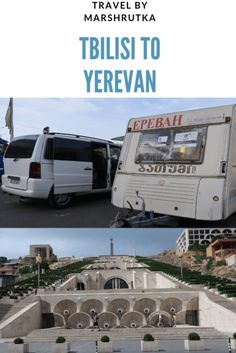 Travelling from Georgia to Armenia? We took a marshrutka ride from Tbilisi to Yerevan and we'd like to share our experience. Travel Advise, Travel Tips, Cheap Travel, Budget Travel, Living On The Road, Group Tours, Train Travel, Armenia, Wanderlust Travel
