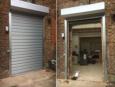 Our RSG5000 galvanised roller shutters fitted recently to the rear of commercial shops in Holloway, North London.