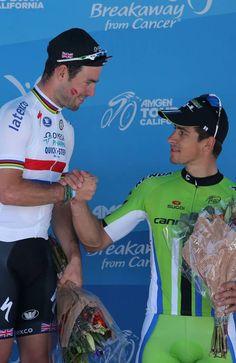 Mark Cavendish (OPQS) & Peter Sagan (Cannondale)
