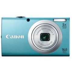 Canon PowerShot A2400 IS   16 MP Smart AUTO   720p Full HD Video   2.7-Inch LCD