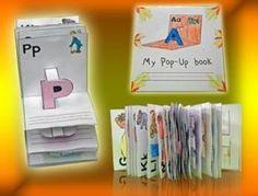 Pop Up Alphabet Printable Activities (2 Dimensional)