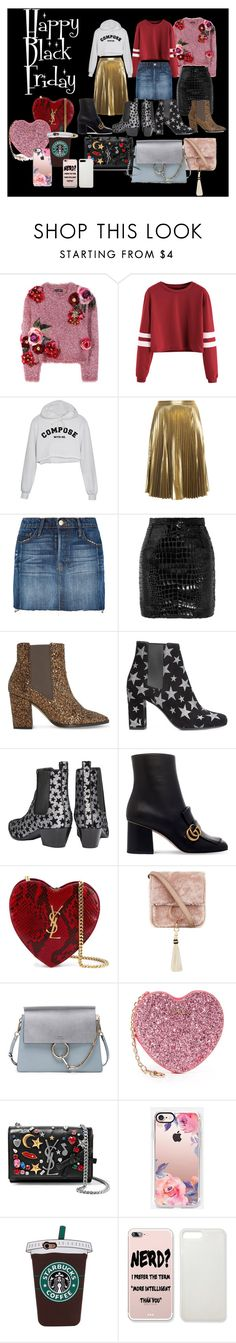 """""""Happy Black Friday inspo"""" by sabrinabuizza on Polyvore featuring mode, Dolce&Gabbana, A.L.C., Frame Denim, Yves Saint Laurent, Dune, Gucci, Brother Vellies, Chloé et Furla"""