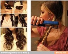 How to get the perfect curls fast and easy.