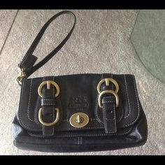 I just discovered this while shopping on Poshmark: COACH LEGACY WRISTLET. Check it out!  Size: OS