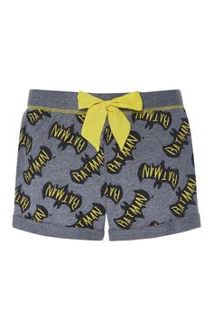 Primark - Grey Batman PJ Shorts