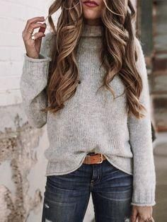 Cute casual winter fashion outfits for women fashion outfits, fall fashion .Cute casual winter fashion outfits for women fashion outfits, fall fashion stylish sweater outfits for the cold winter - stylish Winter Outfits For Teen Girls, Stylish Winter Outfits, Winter Outfits Women, Winter Outfits For Work, Fall Outfits, Winter Clothes, Winter Shoes, Winter Dresses, Summer Outfits
