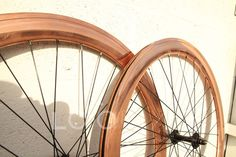 :3 FIXIE 700C Wheelset 50MM Fixie - Fixed Gear/ Flip-Flop hub - COPPER PLATED !! #LocoFixie