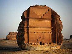 Mada'in Saleh din Saudi Arabia