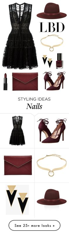 """Little Black Dress"" by theclosetbychristie on Polyvore featuring Elie Saab, Alexis Bittar, Massimo Matteo, Janessa Leone, Bobbi Brown Cosmetics, Yves Saint Laurent, Rebecca Minkoff, NARS Cosmetics, contest and LBD"