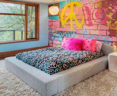 Teen Girl Bedroom Decorating Ideas   The Rebel's Room   DIY Girls Bedroom Ideas