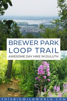 Planning a trip to Duluth, Minnesota? Don't miss this awesome day hike with stunning views of the Duluth skyline, Lake Superior and the St Louis River. Find out where to park, what to expect and more tips to plan your hike! duluth minnesota things to do in   duluth hikes   duluth hiking trails   duluth hidden gems   hiking in minnesota   minnesota travel