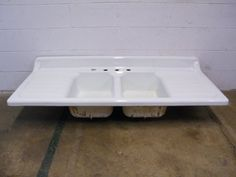 Columbus Architectural Salvage - Cast Iron Farmhouse Sink