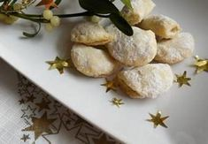Vánoční pečení: Cukroví podle našich babiček! - Království žen Ricotta, Baked Potato, Muffin, Potatoes, Vegetables, Breakfast, Ethnic Recipes, Food, Cakes