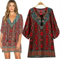 b7bcd7becbe Krátké dámské letní šaty k moři tmavě červené – letní šaty+ POŠTOVNÉ ZDARMA  Na tento produkt