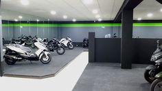 Servicio oficial Kawasaki para España. #Box31motos #kawasaki