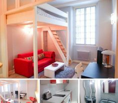 Furnished studio for rent in Paris on Boulevard Pereire  1300 Euro per month