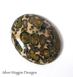 Leopard Skin Jasper Oval Cab