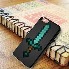 Minecraft Green Mint Sword iPhone 6|iPhone 6S Case