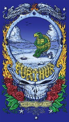David Welker Further, Umphrey's McGee, Eric Church and Once A Lizard Poster Release Details Rock Posters, Band Posters, Concert Posters, Gig Poster, Music Posters, Festival Posters, Grateful Dead Image, Grateful Dead Poster, Grateful Dead Wallpaper