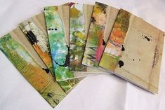I want to send out some mail art in envelopes like these.