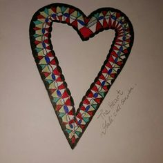 The heart My Drawings, Symbols, Letters, Heart, Icons, Lettering, Fonts, Glyphs, Letter