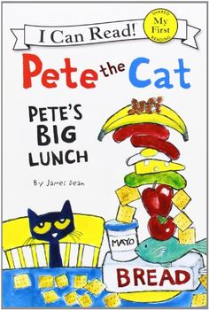 Pete the Cat: Pete's Big Lunch (My First I Can Read) by James Dean,http://www.amazon.com/dp/0062110691/ref=cm_sw_r_pi_dp_nHpDtb03YRK4DT9H