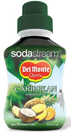 Del Monte Syrup for SodaStream, Caribbean