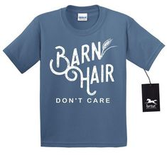 Youth Barn Hair Dont Care T Shirt | Equestrian | Horse T Shirt | Country | Farm - Youth Barn Hair Dont Care T Shirt | Equestrian | Horse T Shirt | Country | Farm Girl | Barn Life | Unisex Youth T Shirt Horse Tshirt Fashionable horse tshirts for sales #horseshirts #horsetshirt - #HorseShirt Cute Country Outfits, Country Shirts, T Shirts With Sayings, Cute Shirts, Work Shirts, Funny Shirts, Farm Girl Style, Farm Women, Horse Shirt