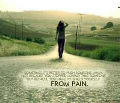 The things and people you choose to have in your life can effect your pain level. Make a wise choice!