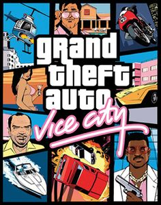 Grand Theft Auto: Vice City is an sandbox action-adventure video game developed by Rockstar North (formerly DMA Design) and published by Rockstar Games. It is the second game in the Grand Theft Auto video game franchise and sixth original title ov Playstation 2, Xbox 360, Grand Theft Auto, Gta 5, Jeux Xbox One, Ps2, Dvd Box, Gta San Andreas, Free Pc Games