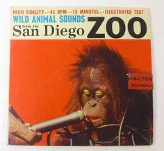 San Diego Zoo Animal Sounds Record