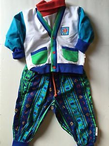 Vintage 80s Gymboree Lot Turtleneck Jacket and Pants Sz Small 9 12 Mos | eBay