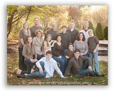 large family poses | This page is about Large group photography of families. It's one of ...