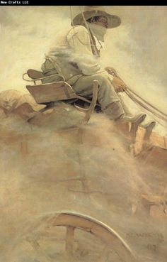 NC Wyeth The Ore Wagon