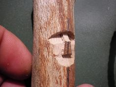 How to make your first walking stick search easy peasy for Chip carving tutorial