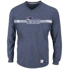 The Paper Store Majestic® New England Patriots Victory Pride V Tee