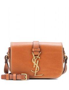 cdc54859cd Monogram Université Small Leather Shoulder Bag ◊ Saint Laurent ▻ mytheresa  Ysl Crossbody Bag
