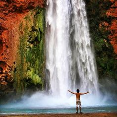 Mooney Falls, Coconino County, Arizona