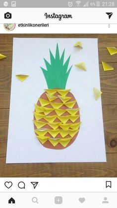 Super christmas tree painting for kids ideas Preschool Crafts, Kids Crafts, Diy And Crafts, Arts And Crafts, Craft Kids, Kids Diy, Fruit Crafts, Tree Crafts, Spring Crafts For Kids