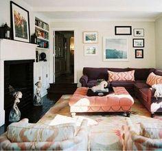 Ikat Living Room // photographer Patrick Cline // Lonny