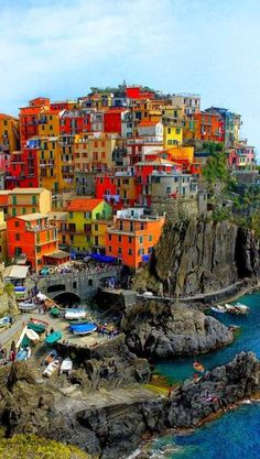 Cinque Terre ~ Italy // In need of a detox? 20% off using our discount code 'Pin20' at www.ThinTea.com.au